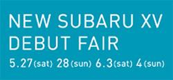 NEW SUBARU XV DEBUT FAIR